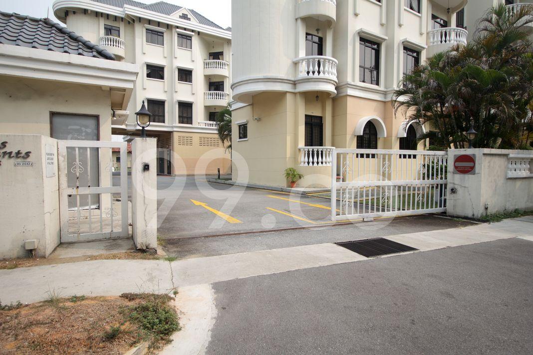 Silahis Apartments  Entrance