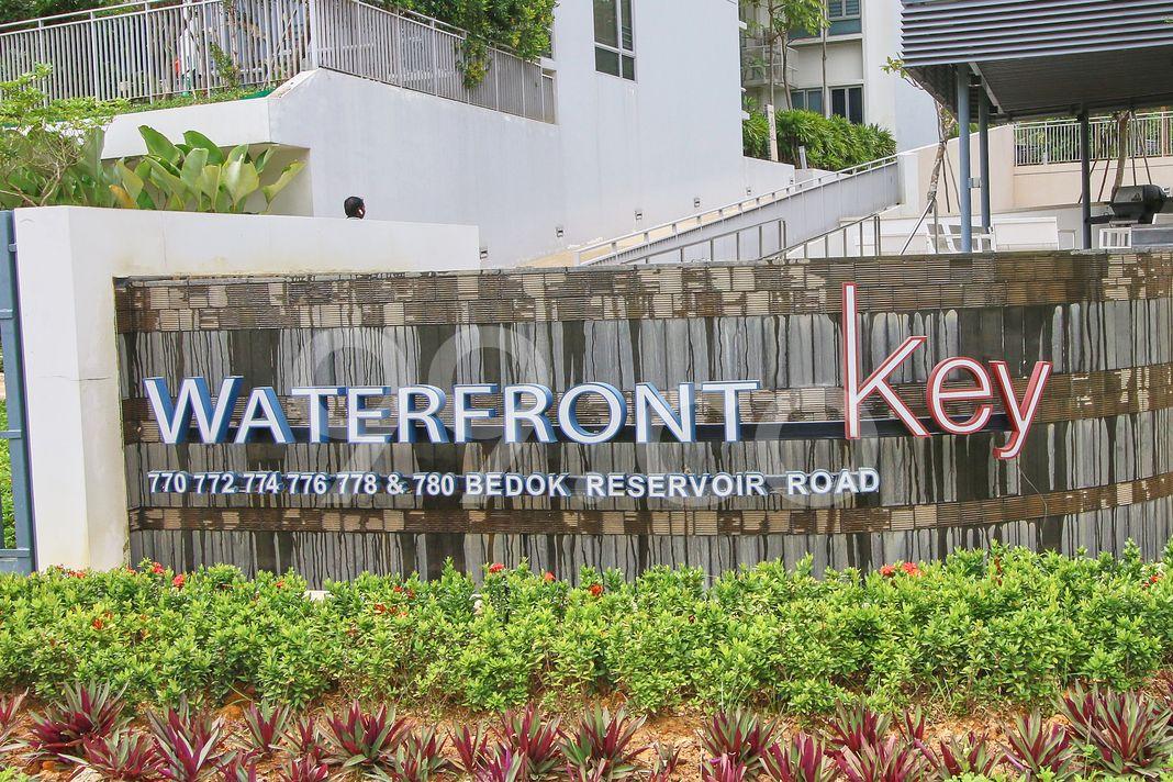 Waterfront Key  Logo