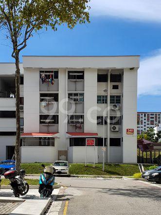 HDB-Hougang Block 340 HDB-Hougang