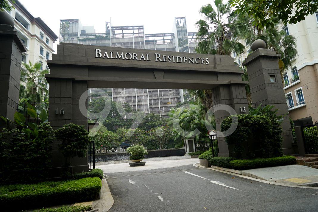 Balmoral Place  Entrance