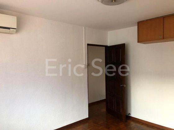 Huge bedroom space on upper level