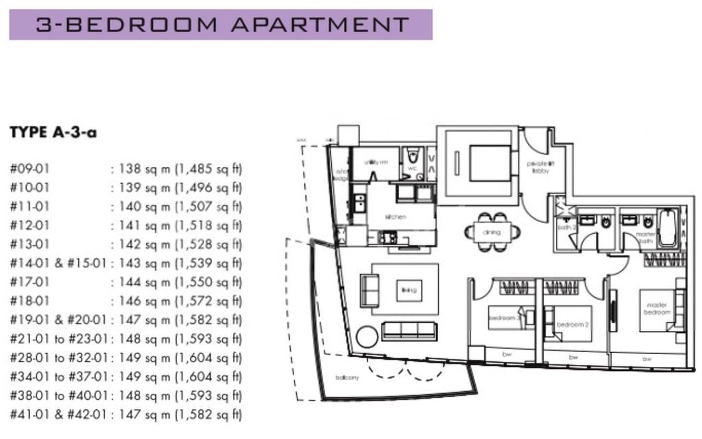 One Shenton #2x-01 Floor Plan