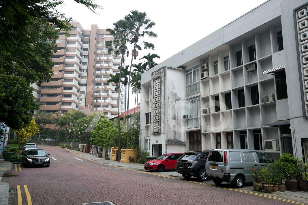 Emerald Apartments  Street