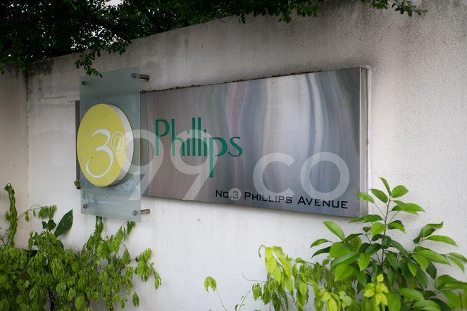 3 @ Phillips 3 @ Phillips - Logo