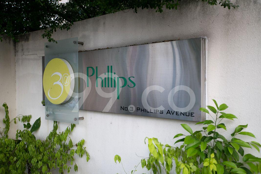 3 @ Phillips  Logo