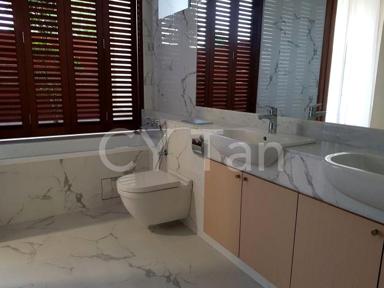 Marble finishing for master bathroom