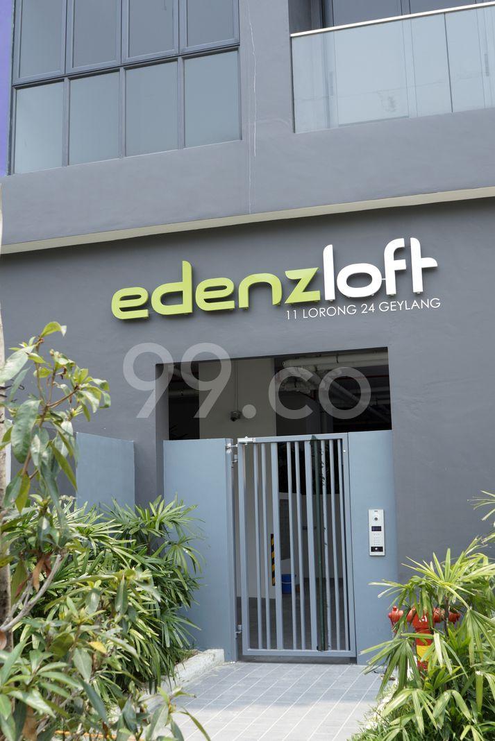 Edenz Loft  Logo