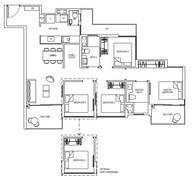 4 Bedrooms Type 4C1