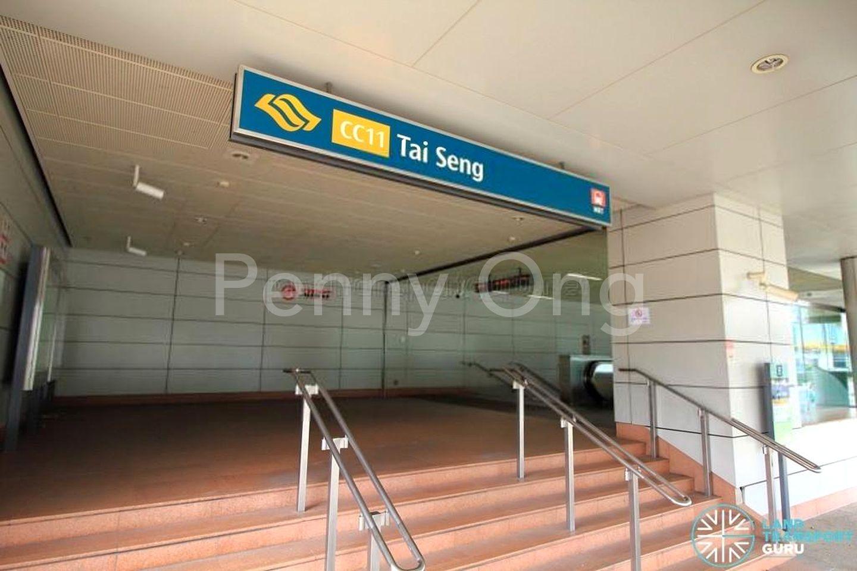 Walk to Tai Seng MRT