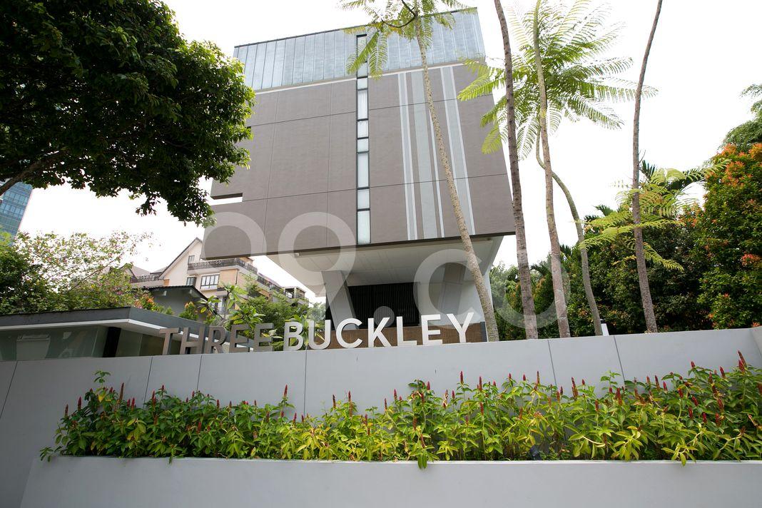 Three Buckley  Logo