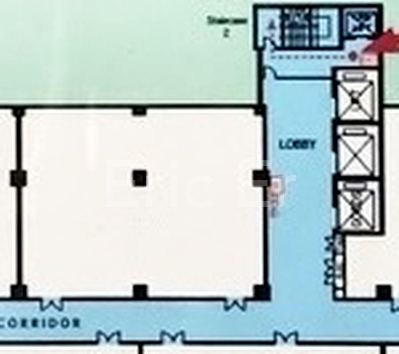 Unit Floor Plan - Dual Door