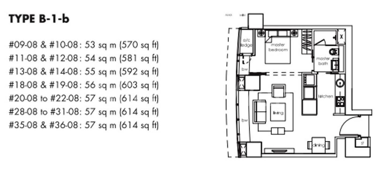 One Shenton #2x-08 Floor Plan
