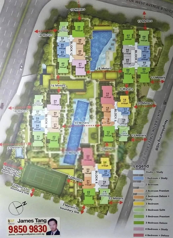 site plan Full condo facilities