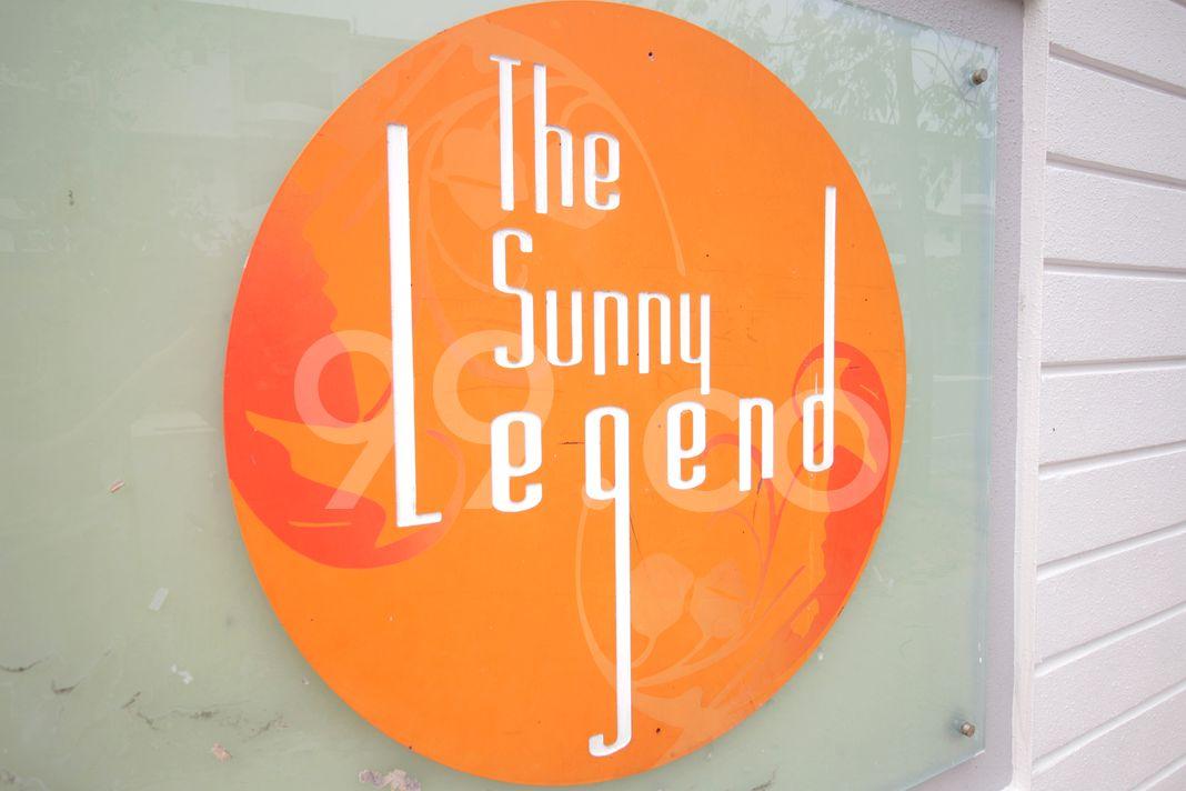 The Sunny Legend  Logo