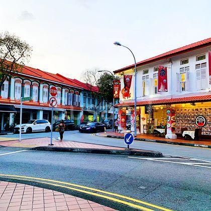 Quaint and vibrant neighbourhood