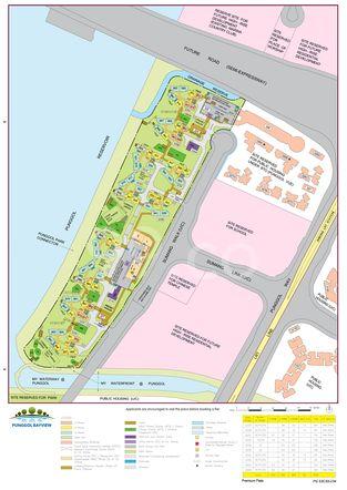 Punggol Bayview Site Map
