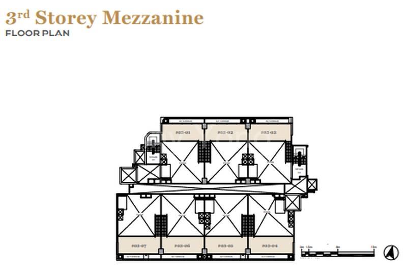 3rd Floor Mezzanine