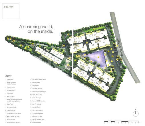 Mon Jervois Site Map