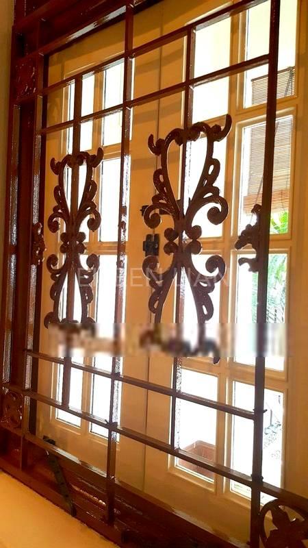 Rustic window grilles