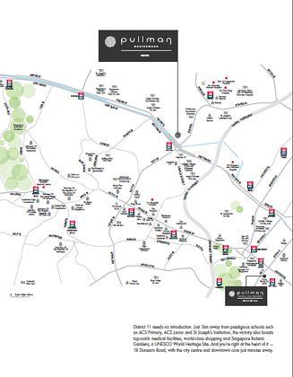 Pullman location map