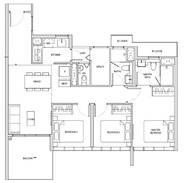 3 Bedrooms Type CP1h