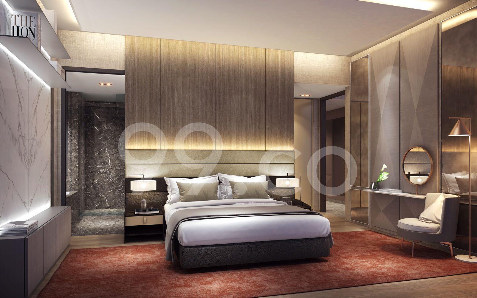 Amber 45 Bedroom
