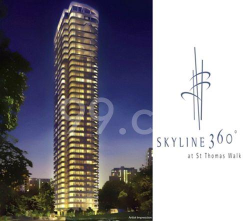Skyline 360 @ St Thomas Walk Artist's impression