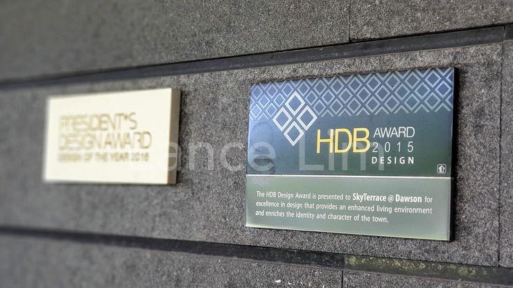 Project awarded HDB Design Award 2015