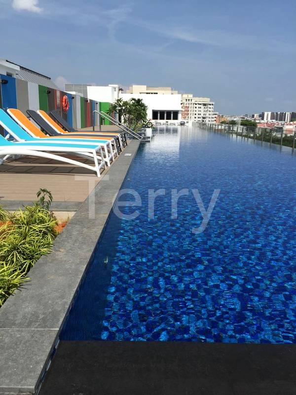 Sky Lounge and Pool Deck