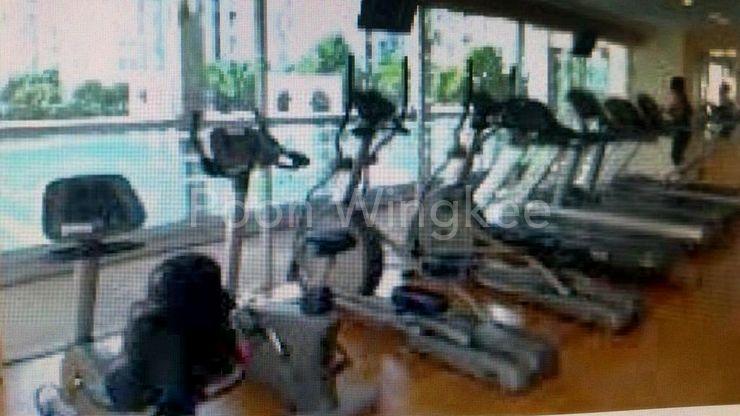 Spacious Gym overlook Bay