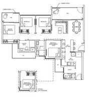 4 Bedrooms Type 4DPG