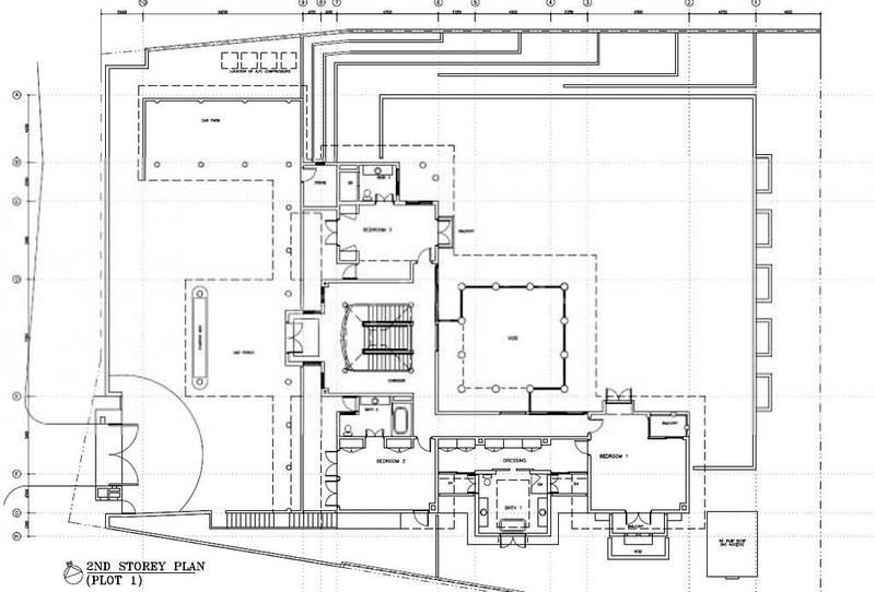 2nd storey floor plan
