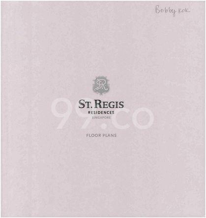 St. Regis Residences Singapore St. Regis Residences Singapore - Cover