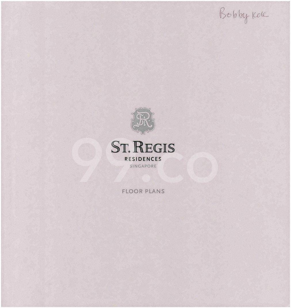 St. Regis Residences Singapore  Cover
