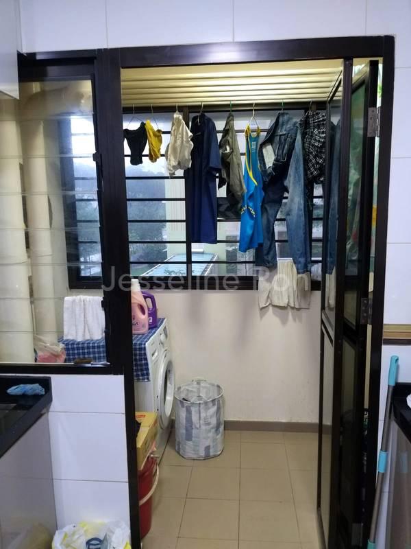 Kitchen & Laundry area.