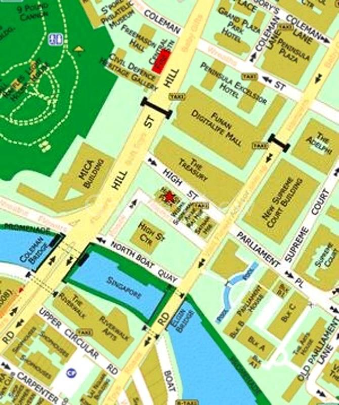 Location of 77 High Street Plaza