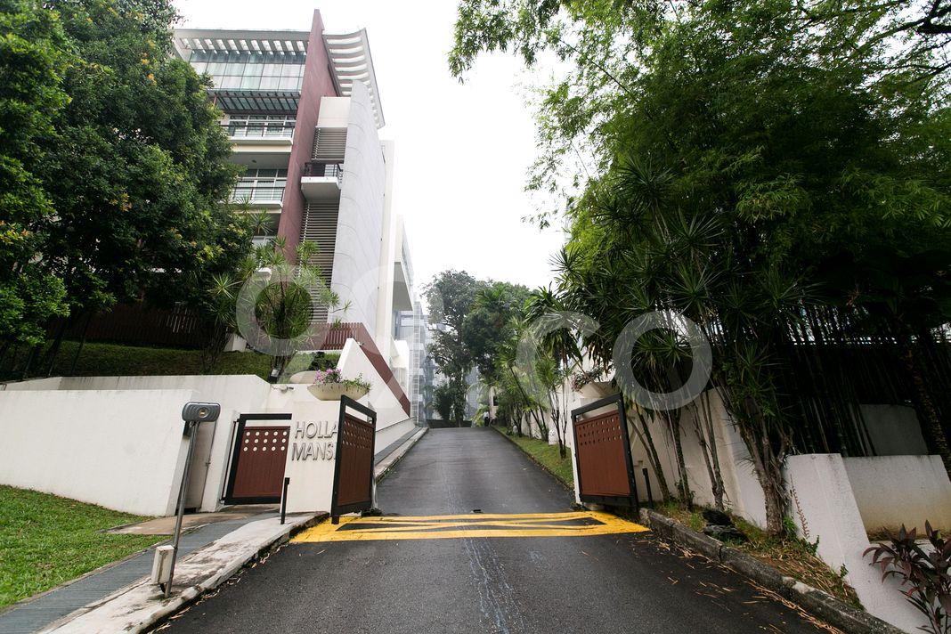 Holland Mansion  Entrance