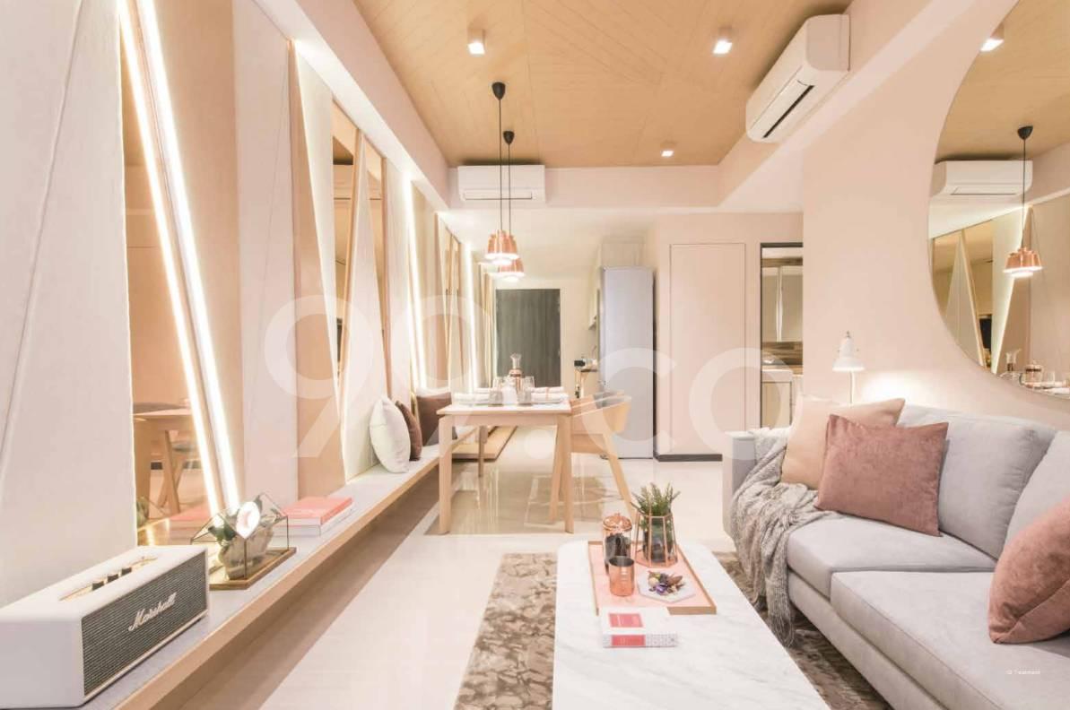 Gem Residences Living Room