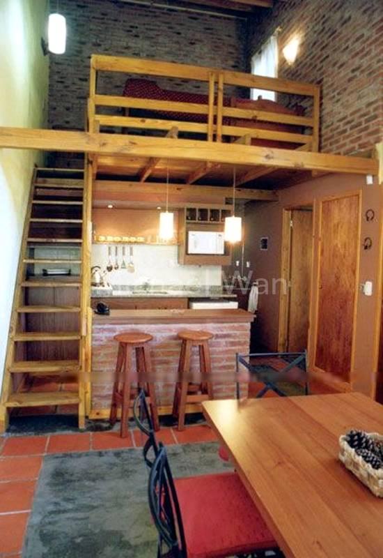 Mezzanine Concept 2- Study Area on Mezzanine Deck