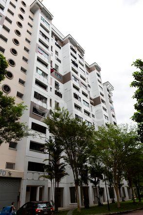 HDB-Jurong East Block 287D Jurong East