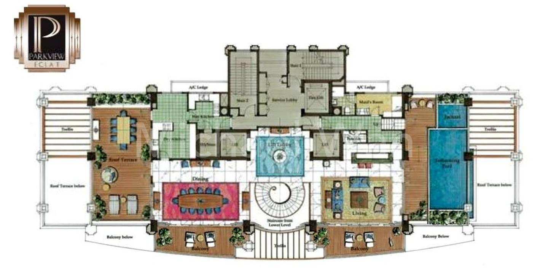 Parkview Eclat Super Penthouse (Upper) #2x-01/10,096sqft