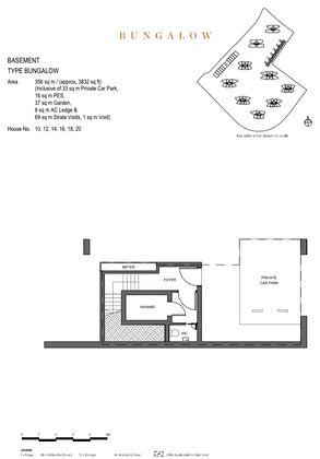 Bungalow Floor Plan  - Basement