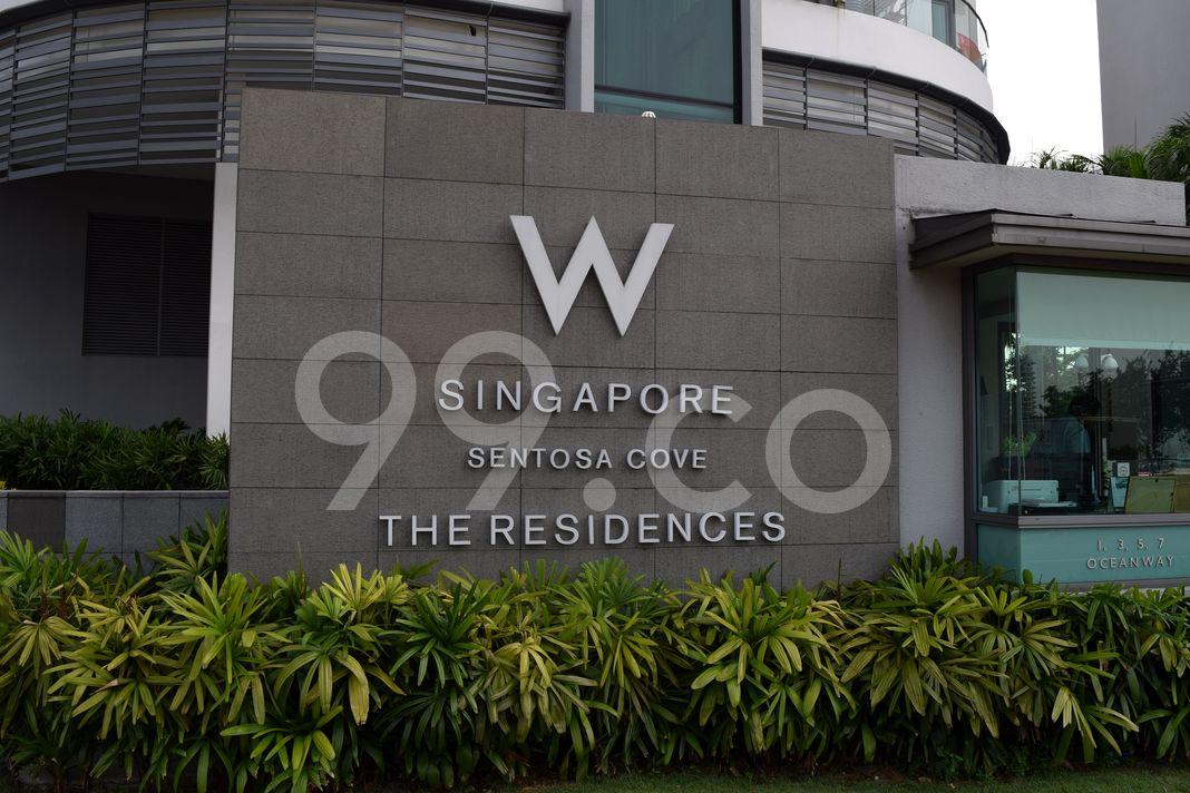 The Residences At W Singapore Sentosa Cove  Logo