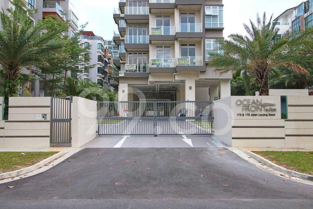 Ocean Front Suites  Entrance