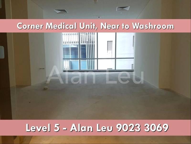 Corner Medical Unit for Rent