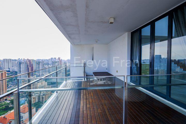 Balcony From Dinning Room