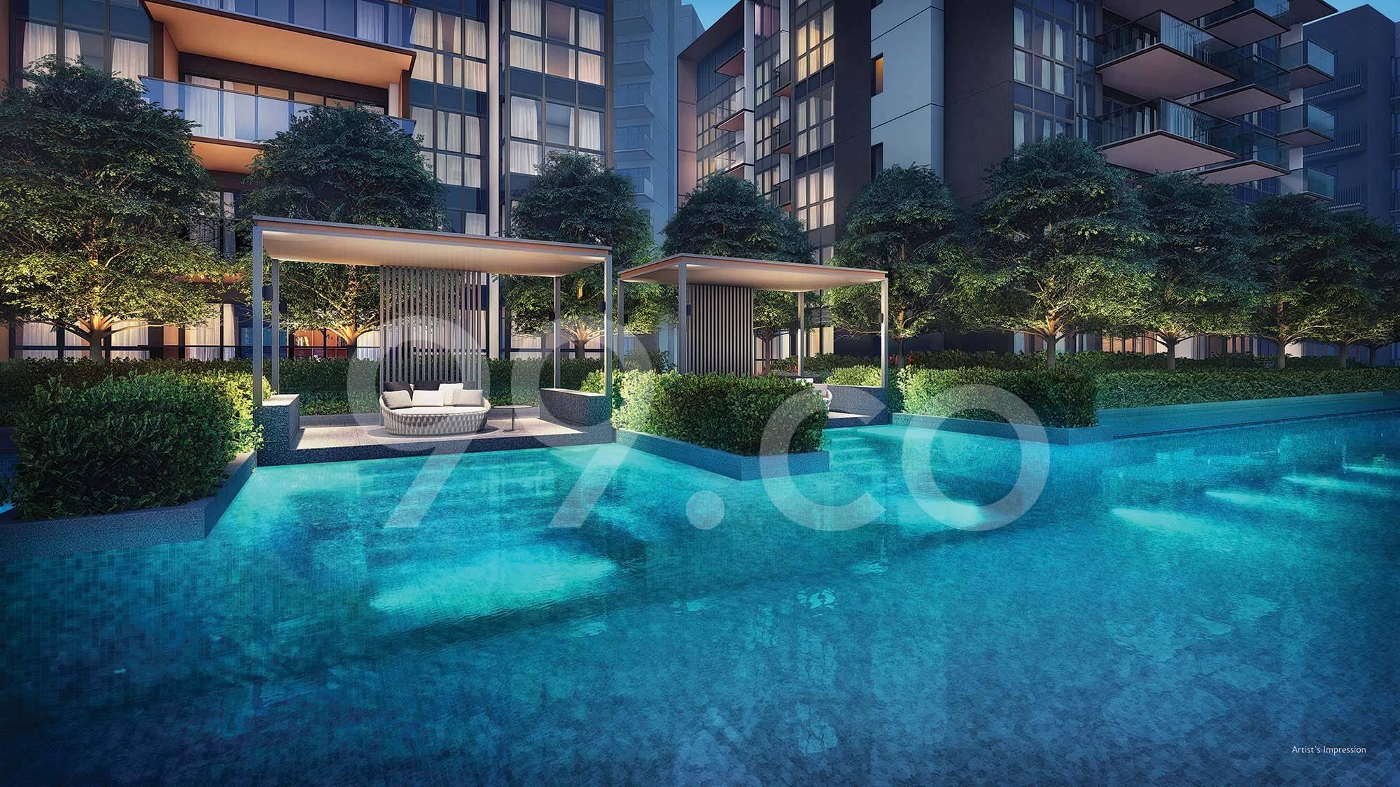 Fourth Avenue Residences Pool