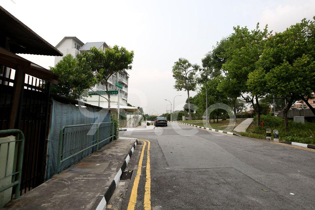 Topaz Mansions  Street