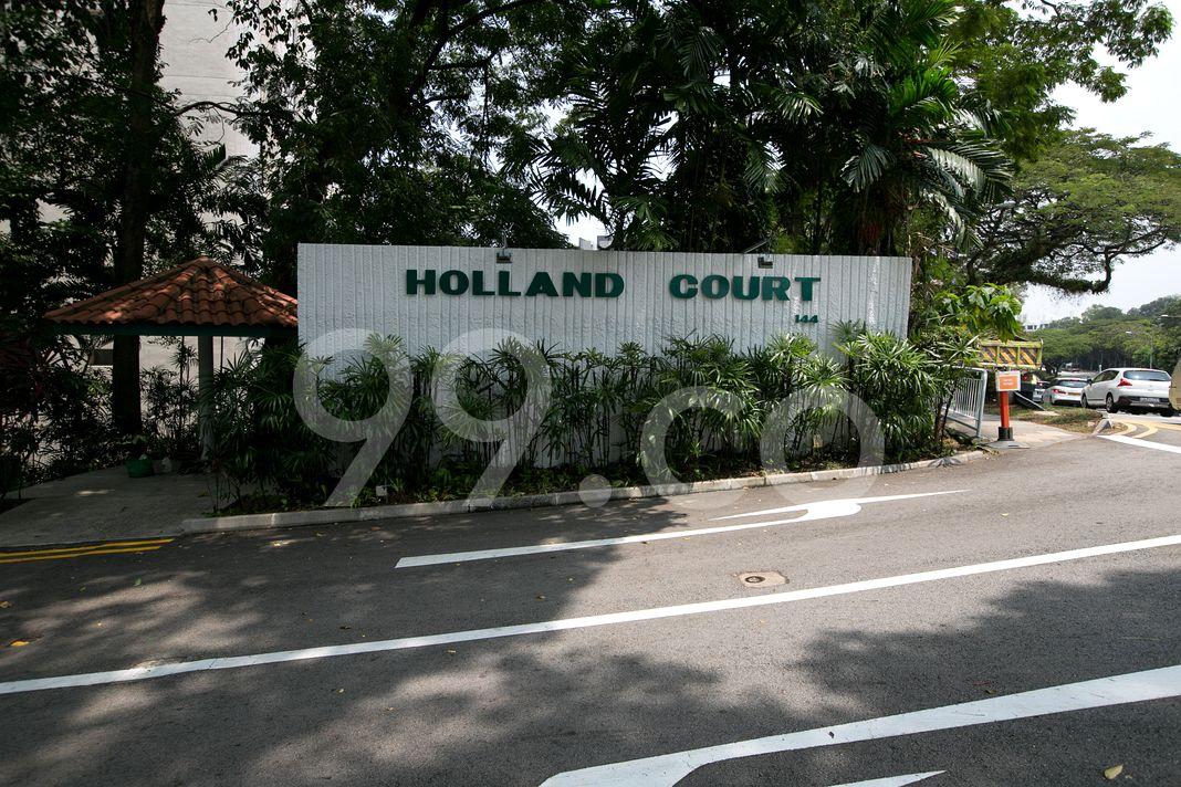 Holland Court  Logo