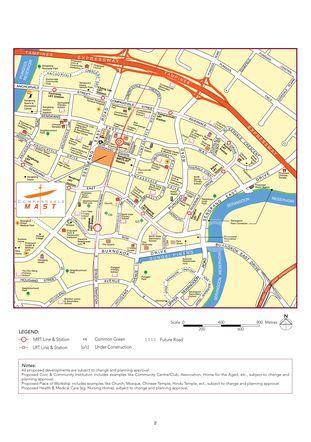 Compassvale Mast Location Map